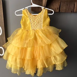 Other - Yellow Toddler Pageant Dress, size 2T